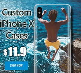 Custom iPhone X cases