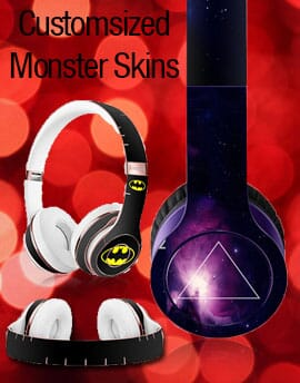 Custom headphone skins for Beats