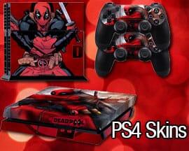 Custom PS4 skins & stickers
